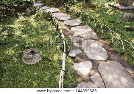 Zen Pathway Steps
