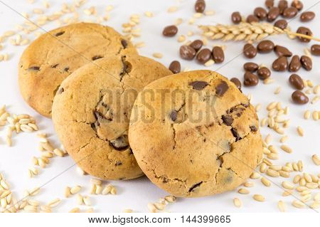 Chocolate Chip Cookies And Chocolate Balls