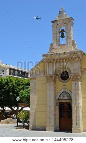 Saint Minas Church in Heraklion, Crete, Greece