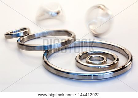 Gasket mechanical seal which fills the space between two or blackberries mating surfaces to prevent leakage of objects while under compression