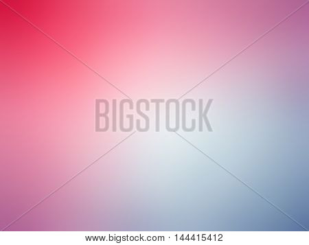 Abstract Gradient Pink Blue Colored Blurred Background