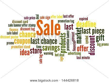 Sale, Word Cloud Concept 5