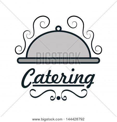 catering delicious food icon vector illustration design