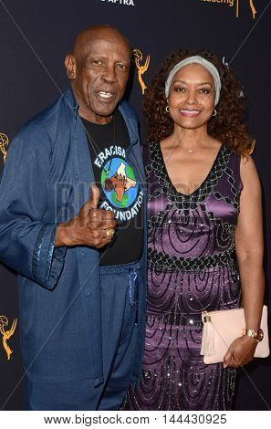 LOS ANGELES - AUG 25:  Louis Gossett Jr, Guest at the 4th Annual Dynamic & Diverse Celebration at the TV Academy Saban Media Center on August 25, 2016 in North Hollywood, CA