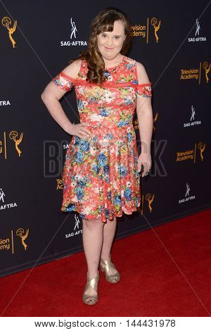 LOS ANGELES - AUG 25:  Jamie Brewer at the 4th Annual Dynamic & Diverse Celebration at the TV Academy Saban Media Center on August 25, 2016 in North Hollywood, CA