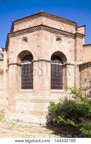 Agia Sofia church in Thessaloniki Macedonia Greece