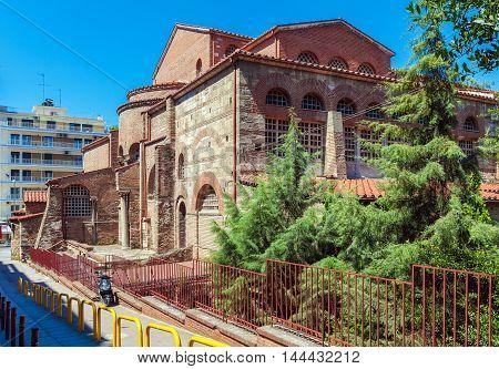 Agios Dimitrios church in Thessaloniki Macedonia Greece