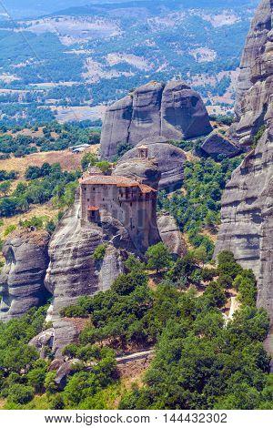 Holy Monastery Of Nicholas Anapausas, Meteora