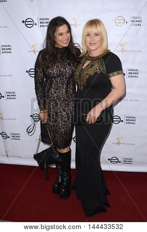 LOS ANGELES - AUG 26:  Kamala Lopez, Patricia Arquette at the