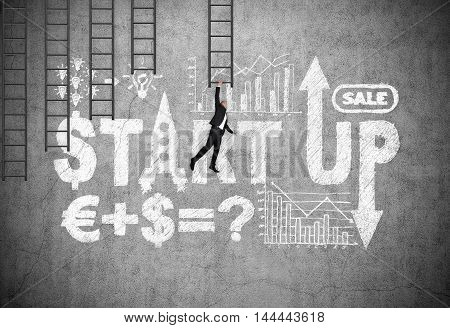 Drawing Start Up Strategy