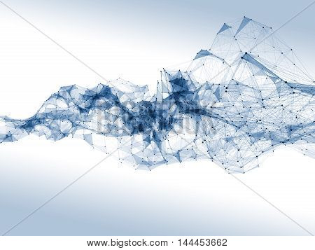 Linear Network Wave