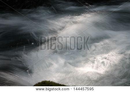 Swift Mountain Stream in Mt. Jefferson Wilderness