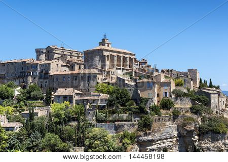 Medieval Village of Gordes in Southern France (Provence)