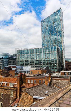Broadgate Tower In London, Uk
