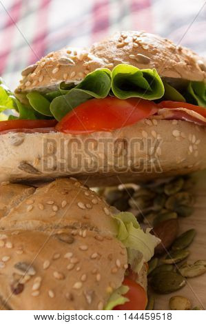 Sandwiches With Fresh Smoked Meat