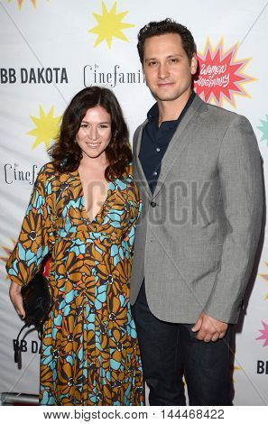 LOS ANGELES - AUG 21:  Yael Stone, Matt McGorry at the