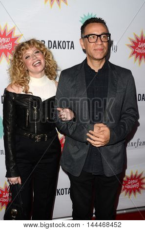 LOS ANGELES - AUG 21:  Natasha Lyonne, Fred Armisen at the