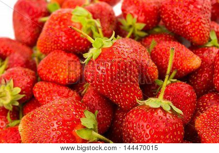 Fresh Strawberry bright, vitamins, decor, creative Background