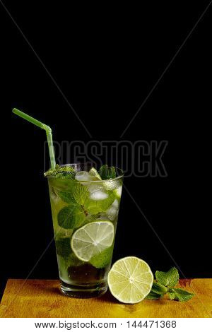 Mojito - a cooling drink of mint and rum.
