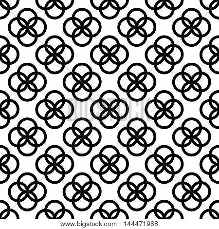 Seamless wallpaper pattern. Geometric background vector illustration eps 10