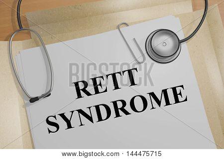Rett Syndrome - Medical Concept