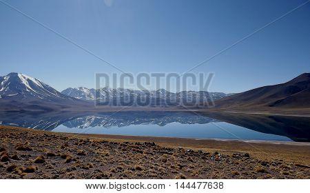 Lagunas Altiplânicas, deserto do atacama, silent place