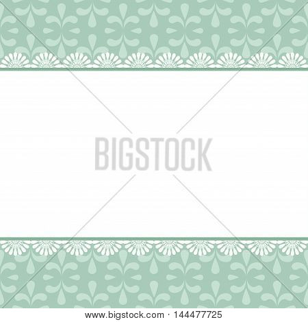 abstract invitation frame with free space for your text