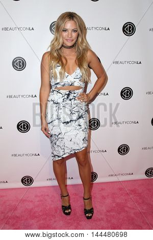 LOS ANGELES - JUN 9:  Becca Tilley at the 4th Annual Beautycon Festival at the Los Angeles Convention Center on June 9, 2016 in Los Angeles, CA