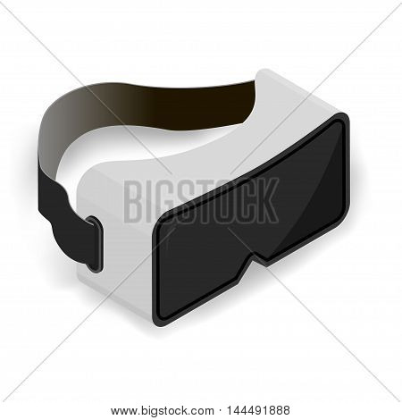 Isolated image on white background, new technologies mankind.