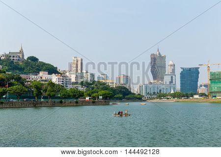 Macao urban city