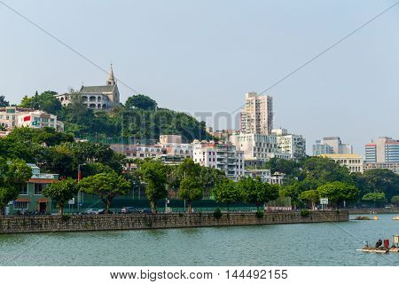 Macau urban city