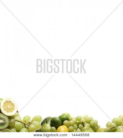 Nutrition texture isolated on white