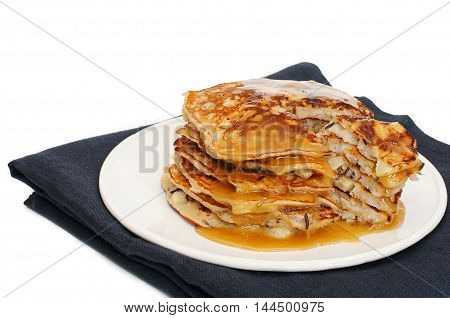 Pancakes With Rice And Apples