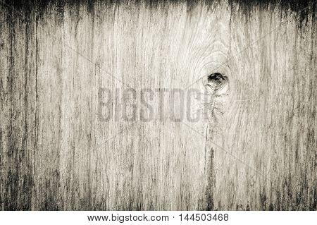 Nature gnarl wooden plank, fine texture background.