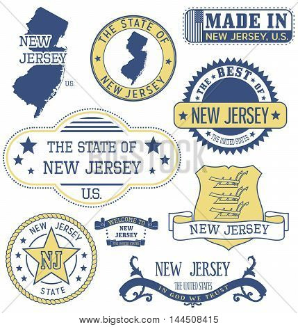 New Jersey Generic Stamps And Signs