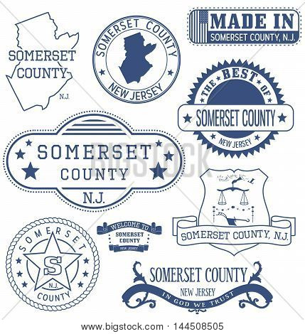 Somerset County, Nj, Generic Stamps And Signs