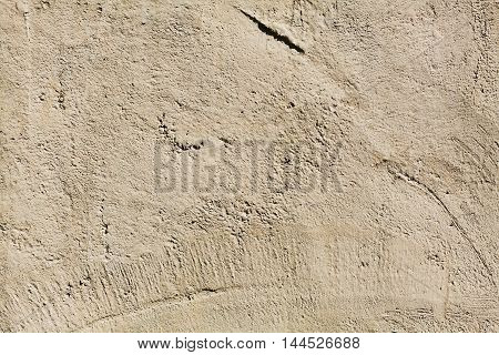 Brown concrete wall texture, wallpaper, backdrop, surface or background for your design.