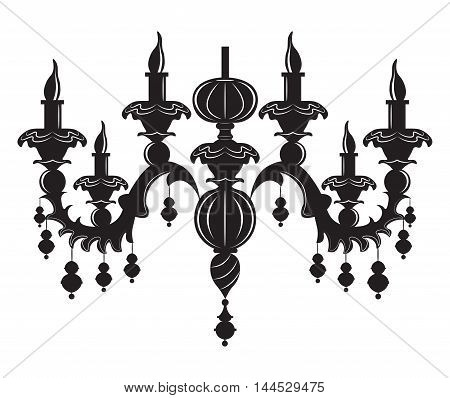 Wall Lamps Vector : Baroque Images, Stock Photos & Illustrations Bigstock