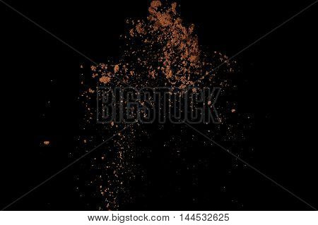 Abstract Soil Explosion.