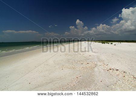 Beautiful Tigertail Beach on Marco Island, Florida Gulf Coast