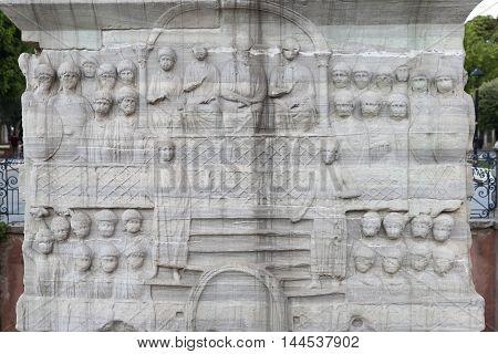 Base Of The Obelisk Of Theodosius