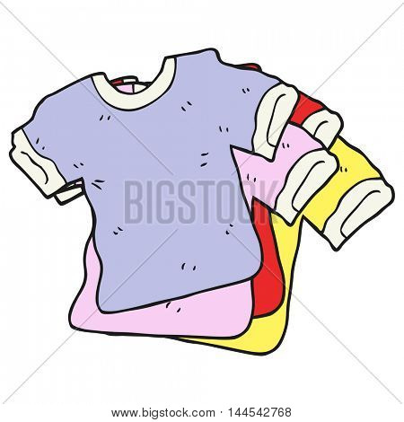 freehand drawn cartoon t shirts