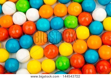 gummy ball multicolored candies for background uses
