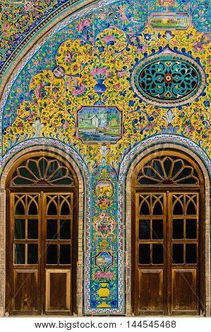 Golestan Palace In Tehran, Iran