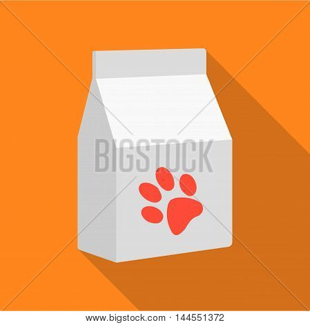 Cat food icon of vector illustration for web and mobile design