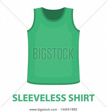 Singlet icon of vector illustration for web and mobile design