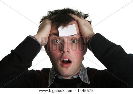 Blank Forehead Five