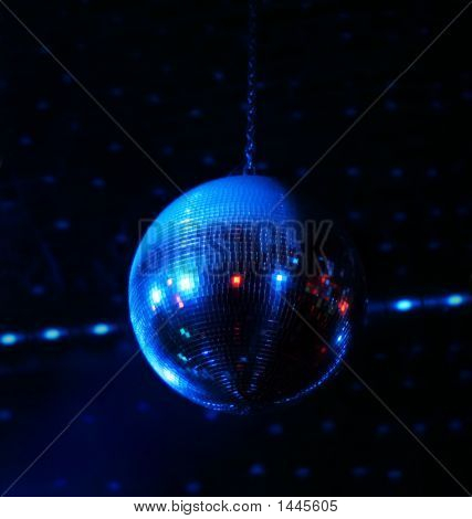 Disco Ball In Motion