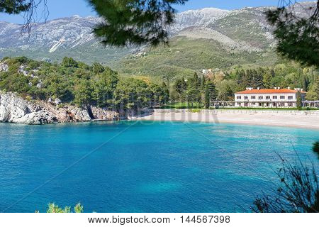 Milocer, Montenegro - the summer residence of the Yugoslav King