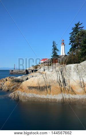 Point Atkinson Light House in Vancouver, Canada.